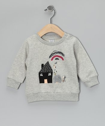 Gray House Out & About Organic Wool Sweatshirt - Infant
