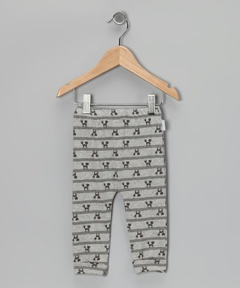 Gray Foxy Organic Leggings - Infant