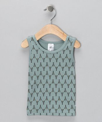 Green Tepee Organic Tank - Infant