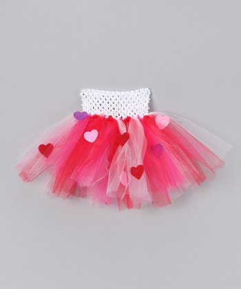 Pink Valentine Tutu - Infant, Toddler & Girls