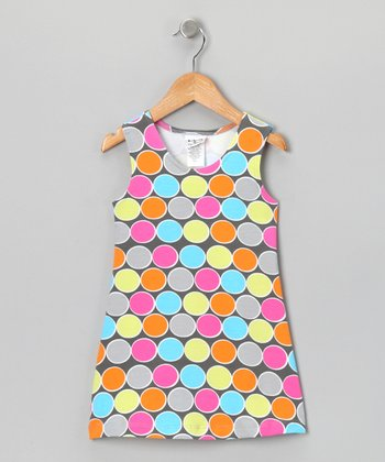 Candy Polka Dot Fit & Flare Dress - Infant, Toddler & Girls