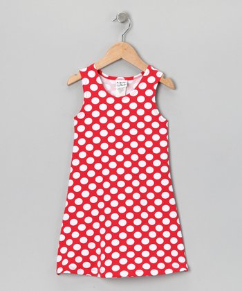 Cherry Punch Fit & Flare Dress - Infant, Toddler & Girls