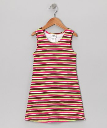 Neapolitan Stripe Fit & Flare Dress - Infant, Toddler & Girls