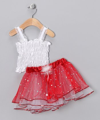 White Top & Red Tutu