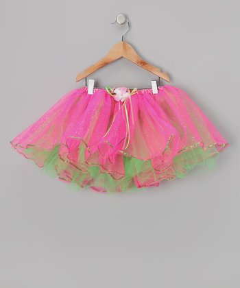 Hot Pink & Green Sequin Tutu