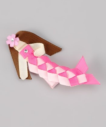 Pink Mermaid Clip