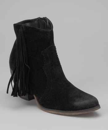 Black Atropos Ankle Boot