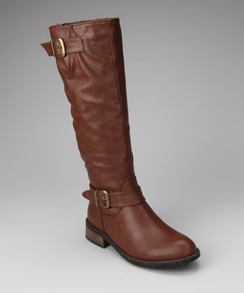 Brown Beatty Boot