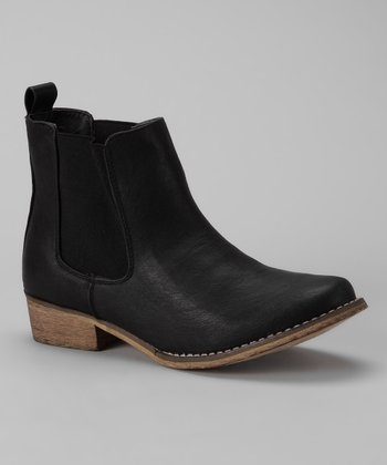 Black Maya Ankle Boot
