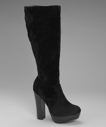 Black Sandy Boot