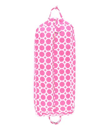 Pink Lots O' Dots Quilted Garment Bag