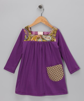 Purple Sophie Play Dress - Toddler