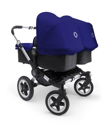 Electric Blue Donkey Twin Stroller