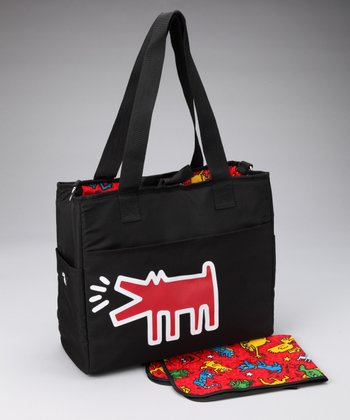 Red Animal Grande Diaper Bag