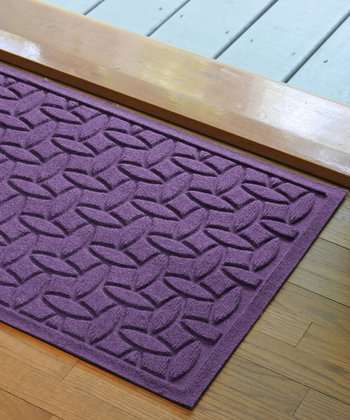 Purple Elipse Aqua Shield Doormat