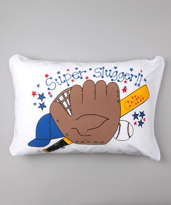 Baseball Personalized Standard Pillowcase