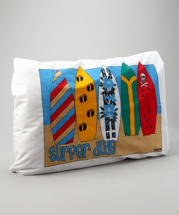 Surf Boy Monogrammed Standard Pillowcase