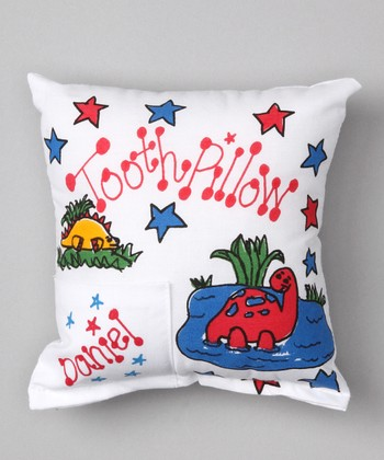 Dinosaur Personalized Tooth Pillow