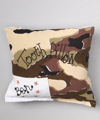 Desert Camo Personalized Tooth Pillow