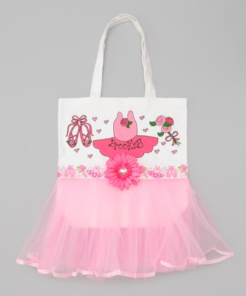 Light Pink Personalized Tutu Tote