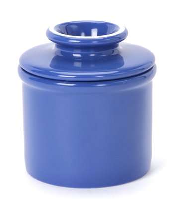 Royal Blue Butter Crock