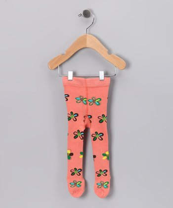 Pink Bloom Tights - Infant