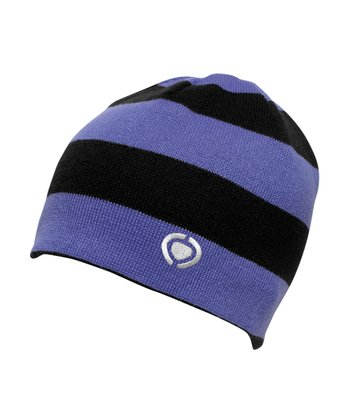 Ultra Violet Stripe Port Beanie