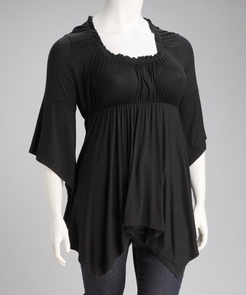 Black Grace Top - Plus