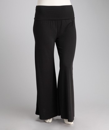Black Premo Pants - Plus