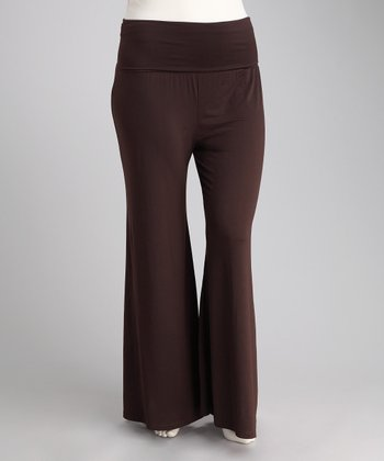Brown Premo Pants - Plus