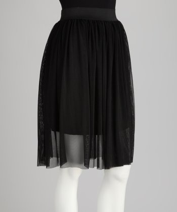 Black Tutu Skirt - Plus