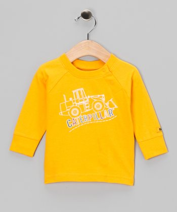 Yellow Uphill Tee - Infant