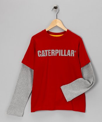 Chili Pepper Thermal Layered Tee - Kids