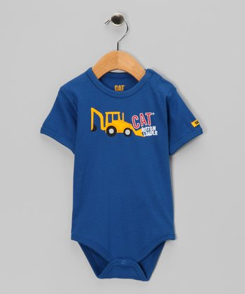 Bright Cobalt 'Bottom Loader' Bodysuit - Infant