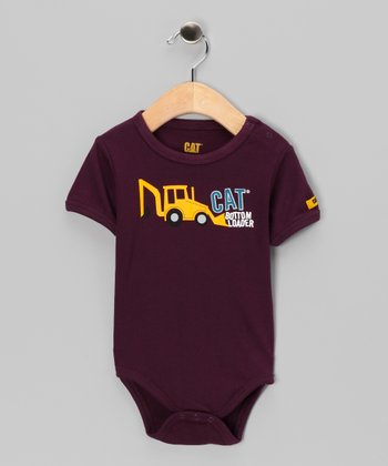 Grape 'Bottom Loader' Bodysuit - Infant