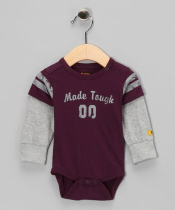 Grape Layered Bodysuit - Infant