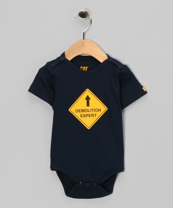 Detroit Blue 'Demolition Expert' Bodysuit - Infant