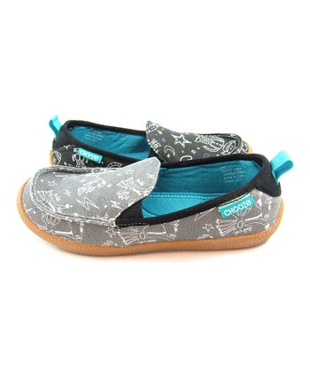 Slate & Gray Frep Scout Shoe  - Kids