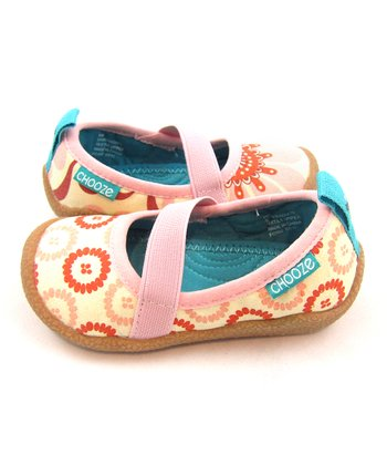 Pink & Orange Radiate Spin Shoe - Kids