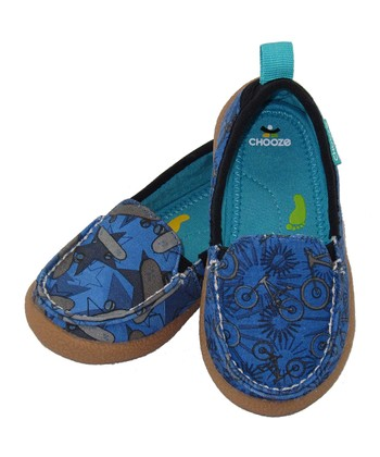 Blue Shred Scout Slip-On Shoe - Kids