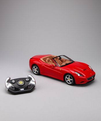 Red Ferrari California Remote Control Car