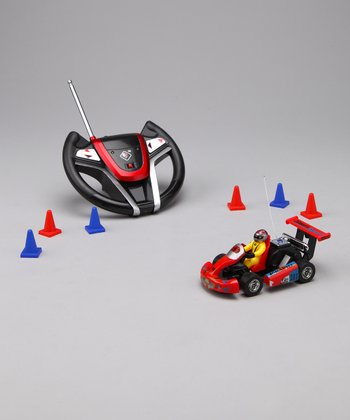 Red Remote Control Go-Kart