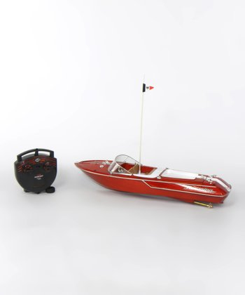 Open Cabin Remote Control Speed Boat