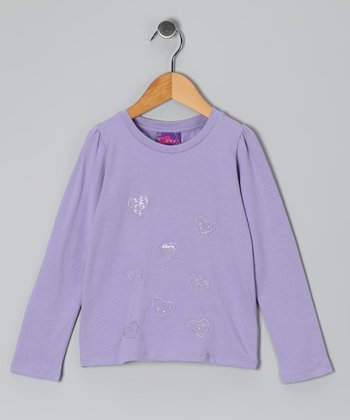 Purple Heart Patch Tee - Toddler & Girls