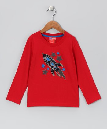Red Rocket Star Tee - Infant