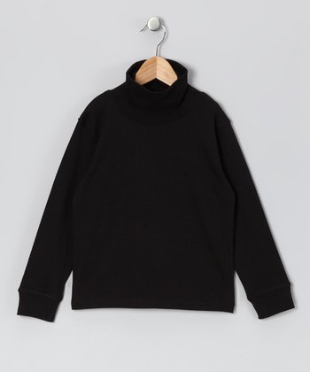 Black Turtleneck - Infant
