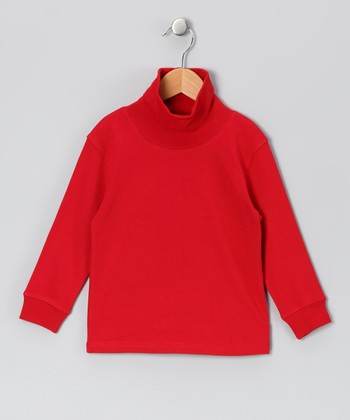 Red Turtleneck - Infant & Boys