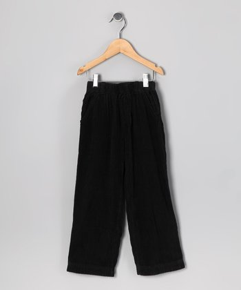 Black Corduroy Pants - Infant, Toddler & Boys