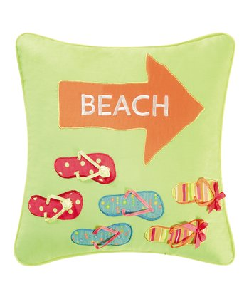 Flip-Flop Quilted Pillow