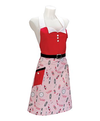'Five O'Clock Somewhere' Lolita Apron